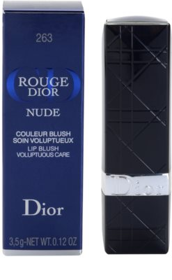 Dior Rouge Nude luksuzna negovalna šminka 2
