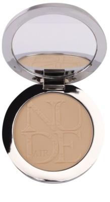 Dior Diorskin Nude Air Powder kompaktní pudr pro zdravý vzhled se štětečkem