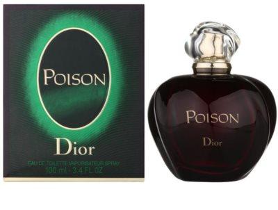 Dior Poison Poison Eau de Toilette woda toaletowa dla kobiet