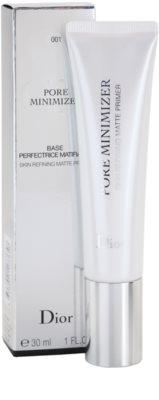 Dior Pore Minimizer base de maquilhagem para diminuição de poros e aspeto mate 3