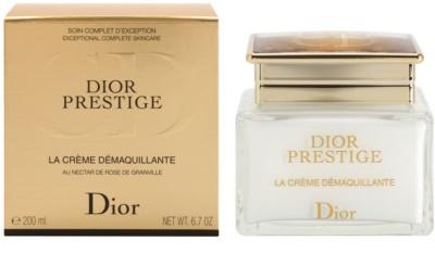 Dior Prestige Creme zum Abschminken für Gesicht und Augen 2