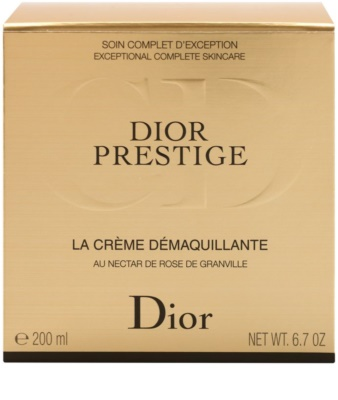 Dior Prestige Creme zum Abschminken für Gesicht und Augen 3