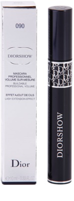 Dior Diorshow Mascara спирала за удължаване и сгъстяване на миглите 2