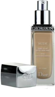 Dior Diorskin Nude tekutý make-up SPF 15 1