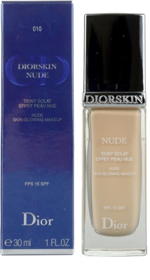 Dior Diorskin Nude tekutý make-up SPF 15 2