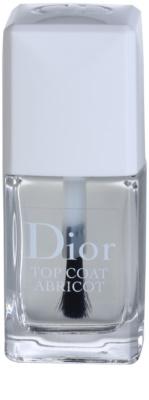 Dior Top Coat Abricot esmalte de uñas con fórmula de secado rápido para uñas