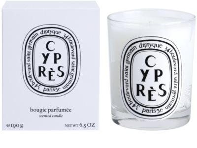 Diptyque Cypres illatos gyertya