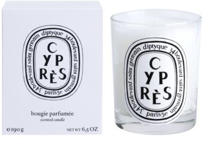Diptyque Cypres vela perfumado
