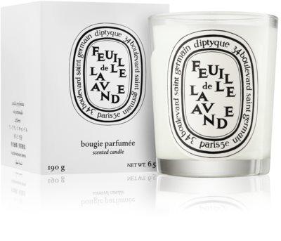 Diptyque Feuille de Lavande vonná svíčka 1