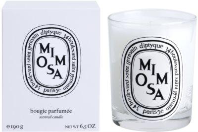 Diptyque Mimosa illatos gyertya