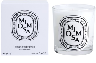 Diptyque Mimosa vela perfumada