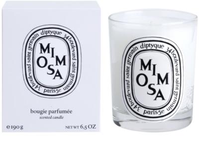 Diptyque Mimosa vela perfumado