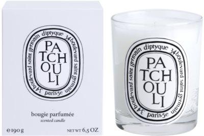 Diptyque Patchouli dišeča sveča