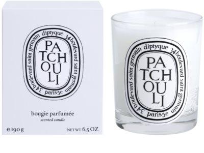 Diptyque Patchouli vela perfumada