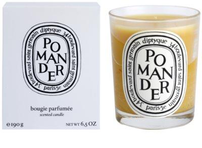 Diptyque Pomander vela perfumada