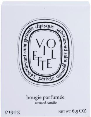 Diptyque Violette lumanari parfumate 3