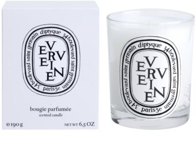 Diptyque Verveine vela perfumado