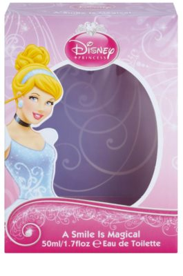 Disney Princess Cinderella A Smile Is Magical Eau de Toilette pentru copii 4