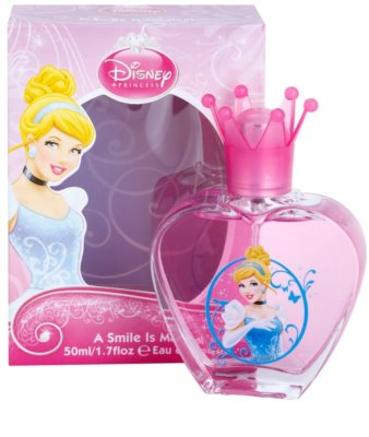 Disney Princess Cinderella A Smile Is Magical Eau de Toilette pentru copii 1