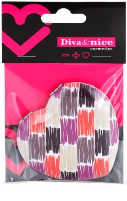 Diva & Nice Cosmetics Accessories Kosmetischer Spiegel in Form eines Herzens 1