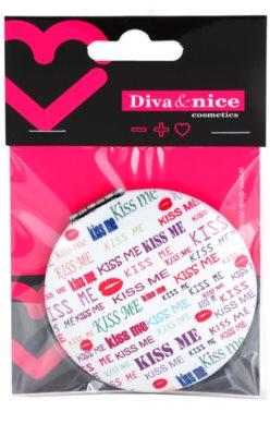 Diva & Nice Cosmetics Accessories kosmetické zrcátko kulaté 3