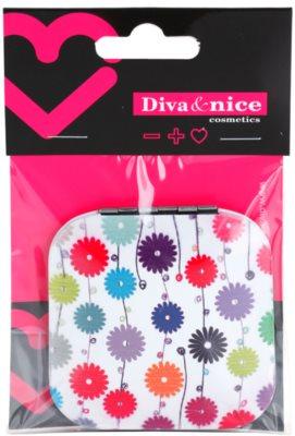 Diva & Nice Cosmetics Accessories kosmetické zrcátko hranaté 1