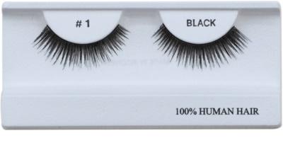 Diva & Nice Cosmetics Accessories naklejane sztuczne rzęsy z naturalnych włosów