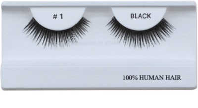 Diva & Nice Cosmetics Accessories pestañas postizas fabricadas con cabello natural