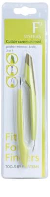 Diva & Nice Cosmetics Accessories multifunkční nástroj na péči o nehtovou kůžičku
