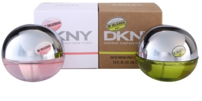 DKNY Be Delicious + Be Delicious Fresh Blossom zestaw upominkowy