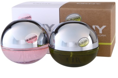 DKNY Be Delicious + Be Delicious Fresh Blossom Geschenksets 2