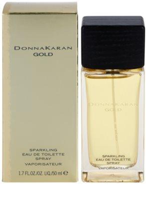 DKNY Gold Sparkling Eau de Toilette para mulheres