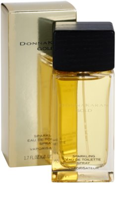 DKNY Gold Sparkling toaletní voda pro ženy 1