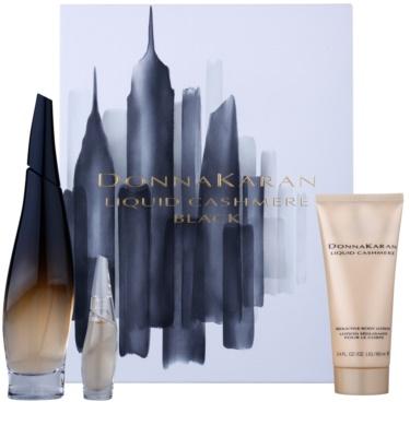 DKNY Liquid Cashmere Black Geschenksets