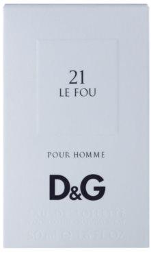 Dolce & Gabbana D&G Anthology Le Fou 21 Eau de Toilette para homens 4