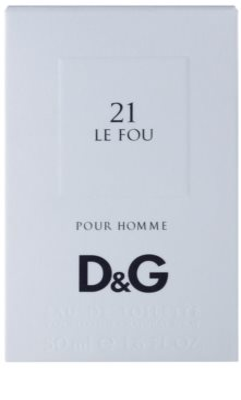 Dolce & Gabbana D&G Anthology Le Fou 21 Eau de Toilette pentru barbati 4