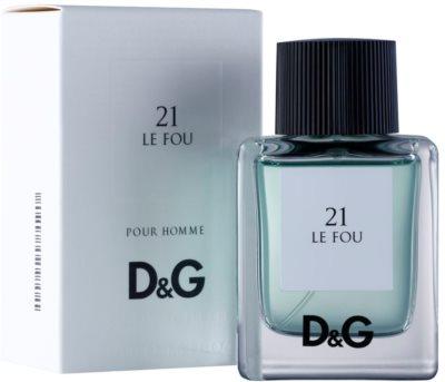 Dolce & Gabbana D&G Anthology Le Fou 21 Eau de Toilette para homens 1