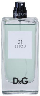 Dolce & Gabbana D&G Anthology Le Fou 21 toaletní voda tester pro muže