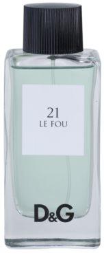 Dolce & Gabbana D&G Anthology Le Fou 21 toaletní voda tester pro muže 1