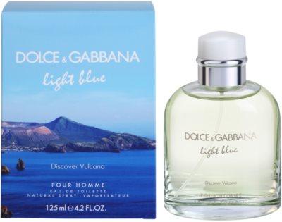 Dolce & Gabbana Light Blue Discover Vulcano Pour Homme eau de toilette férfiaknak