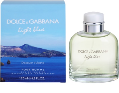 Dolce & Gabbana Light Blue Discover Vulcano Pour Homme туалетна вода для чоловіків