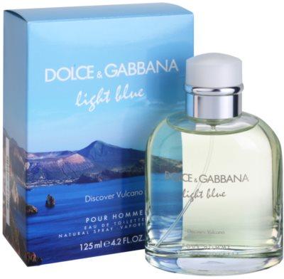 Dolce & Gabbana Light Blue Discover Vulcano Pour Homme toaletna voda za moške 1