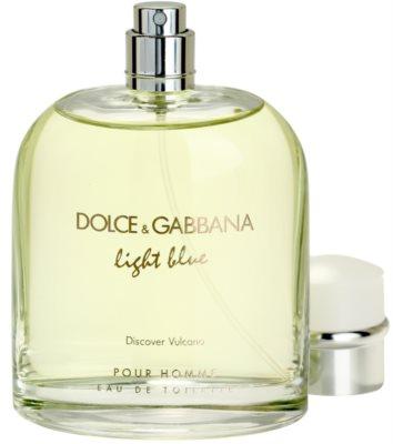 Dolce & Gabbana Light Blue Discover Vulcano Pour Homme eau de toilette teszter férfiaknak
