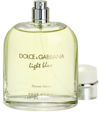 Dolce & Gabbana Light Blue Discover Vulcano Pour Homme toaletní voda tester pro muže