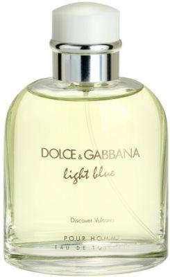 Dolce & Gabbana Light Blue Discover Vulcano Pour Homme toaletní voda tester pro muže 1
