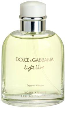Dolce & Gabbana Light Blue Discover Vulcano Pour Homme eau de toilette teszter férfiaknak 1