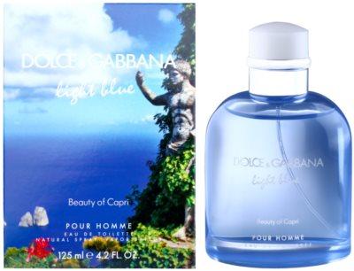Dolce & Gabbana Light Blue Beauty of Capri Eau de Toilette pentru barbati