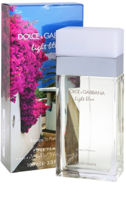 Dolce & Gabbana Light Blue Escape To Panarea Eau de Toilette für Damen 1