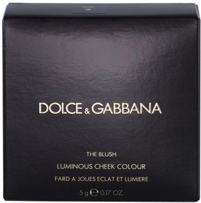 Dolce & Gabbana Blush arcpirosító 4