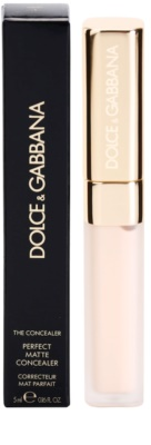 Dolce & Gabbana The Concealer corretor matificante 2